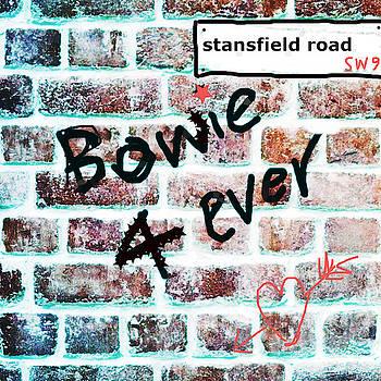 Enki Art - Bowie Childhood Road Brixton
