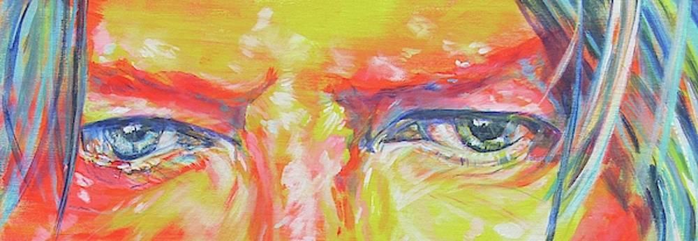Bowie's Eyes by Karin McCombe Jones