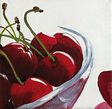 Bowl of Cherries by Sharon Duguay