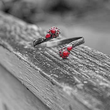 Sharon Popek - Bracelet Red