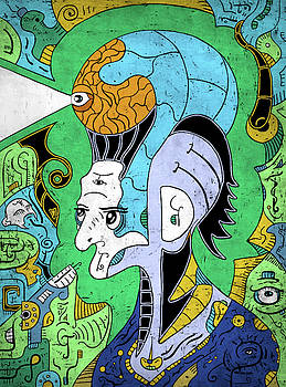 Brain-Man by Sotuland Art