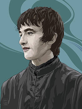 Bran Stark by Garth Glazier