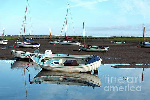Brancaster Staithe reflections by John Edwards