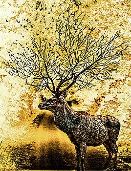 Branching Antelope by AE collections