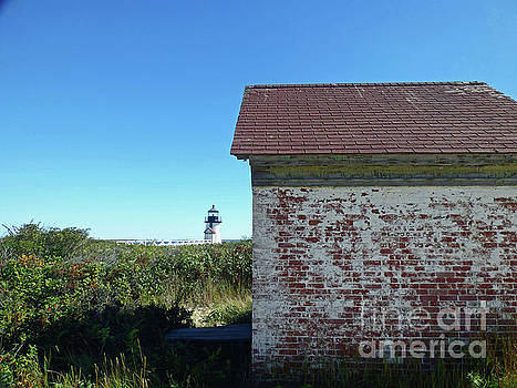 Sharon Williams Eng - Brant Point Oil House and Lighthouse 300