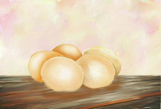Breakfast Eggs by Mary Timman
