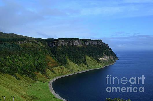 Breathtaking Sea Cliffs at Bearreraig Bay by DejaVu Designs