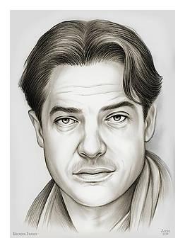 Brendan Fraser by Greg Joens
