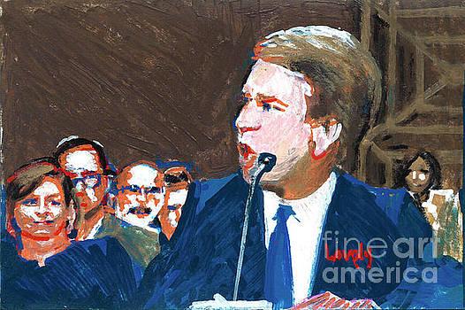 Brett Kavanaugh Testifies Before Senate by Candace Lovely