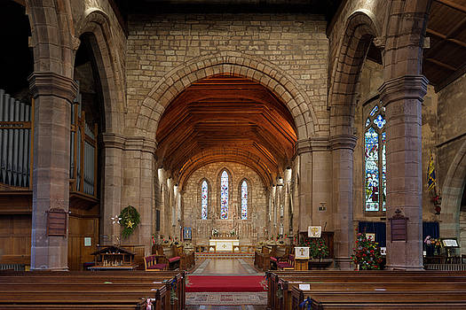 Brewood church by Steev Stamford