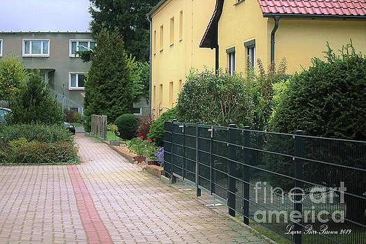 Bricked Herzberg, Germany Neighbors by Laura Birr Brown