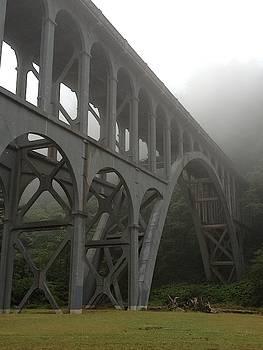 Bridge In Mist by Norman Burnham