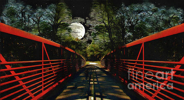 Bridge In The Moon Light by Cedric Hampton
