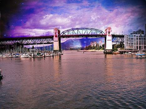 Bridge in Vancouver Canada by Yvonne Sewell