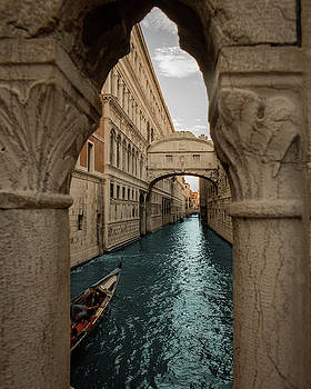 Bridge of Sighs Venice by Vincenzo Romano
