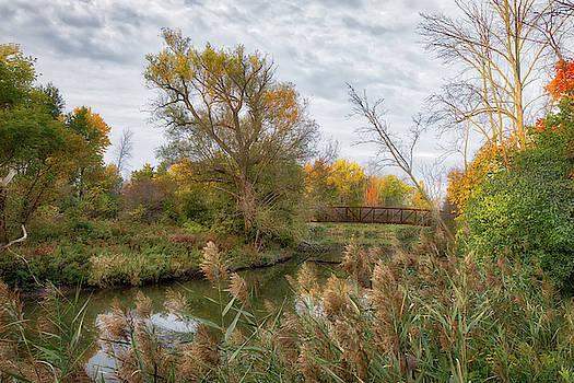 Bridge Over Ellicott Creek by Guy Whiteley