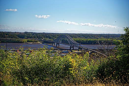 Bridge over the Mississippi by Peter Ponzio