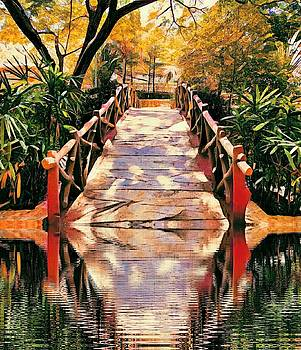 Bridge through water by AE collections