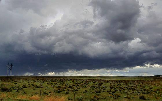 Brief Tornado Near Holyoke, Colorado  by Ally White