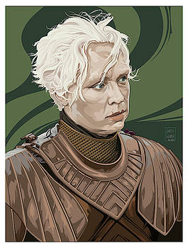Brienne of Tarth by Garth Glazier