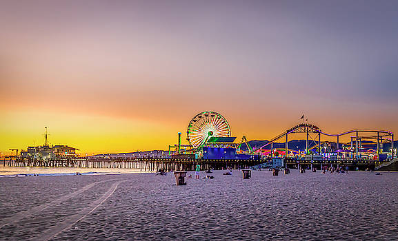 Bright Sunset by Gene Parks
