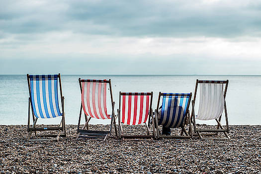 Brighton Beach Chairs by Ian Robert Knight