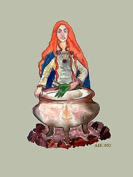 Brigid Of The Gaels by Ahonu