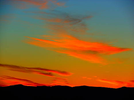 Brilliant Sunset In Golden Valley by James Welch