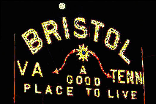 Bristol Sign by Greg Booher