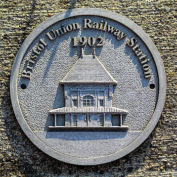 Bristol Train Station Plaque by Greg Booher