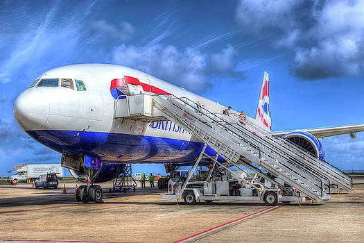 British Airways Boeing 777 Barbados by David Pyatt