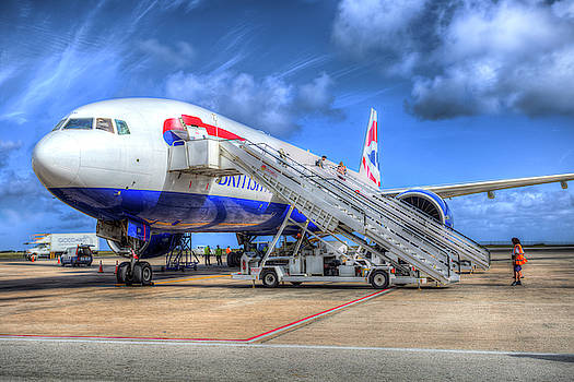 British Airways In Barbados by David Pyatt