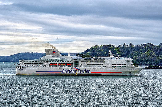 Brittany Ferries Pont Avon by Chris Day