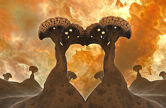 Broccoli Planet no4 by Grant Osborne