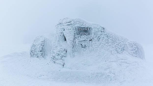 Brocken summit stone, Harz by Andreas Levi