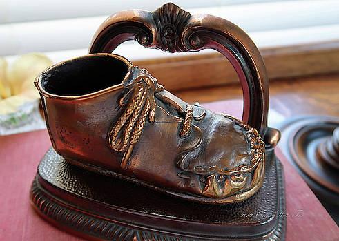 Connie Fox - Bronze Baby Shoe