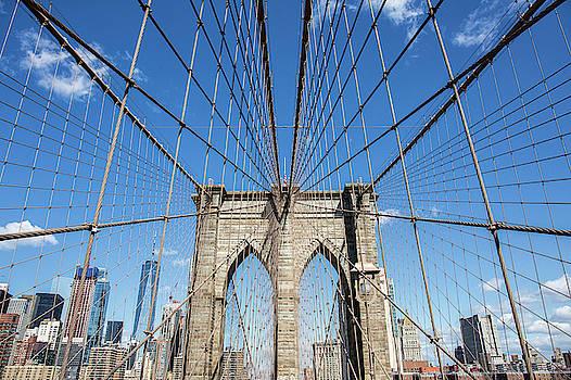 Brooklyn Bridge NYC  by Stephanie McDowell