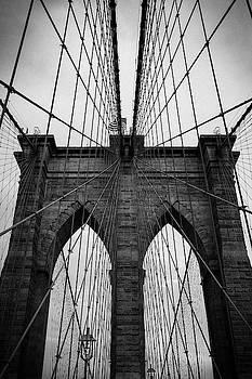 Brooklyn bridge Wall art by Andy Myatt