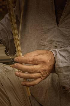 Broom  Maker by Guy Whiteley