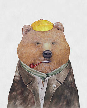 Brown Bear by Animal Crew