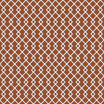 Brown Diamond Pattern by Ross