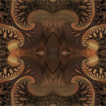 Brown Tree Fractal by Grant Osborne
