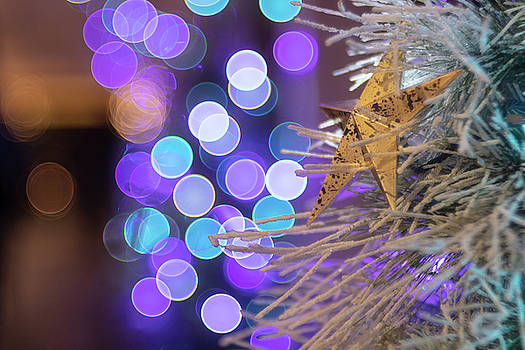 Bubble bokeh and Star by Brian Hale