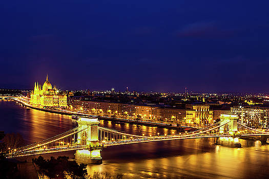 Budapest at Twilight by Andrew Soundarajan