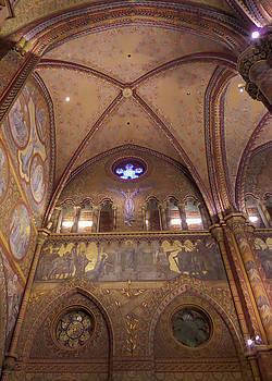 Budapest Matthias Church by Norma Brandsberg