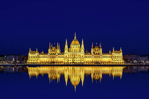 Budapest Reflections by Andrew Soundarajan
