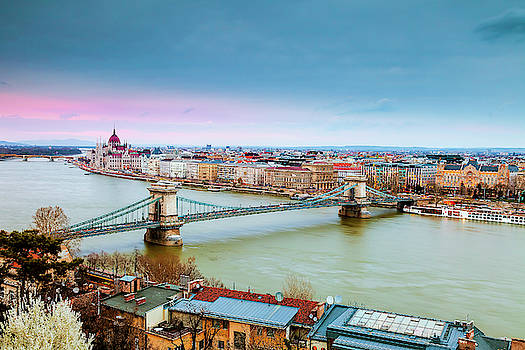 Budapest View by Andrew Soundarajan