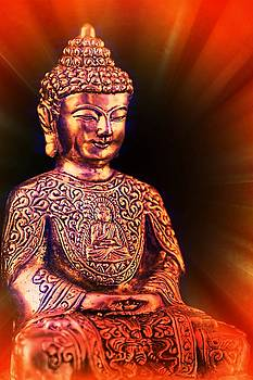 Buddha statue for good luck and fortune by Tatiana Travelways