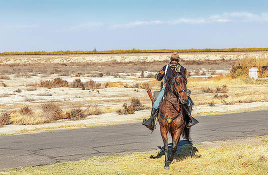 Buffalo Soldier 2018 - Allensworth State Park  by Gene Parks