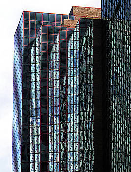 Building Reflections New York City by Dave Mills
